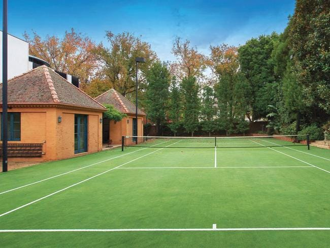 Tennis court for the price of a mansion
