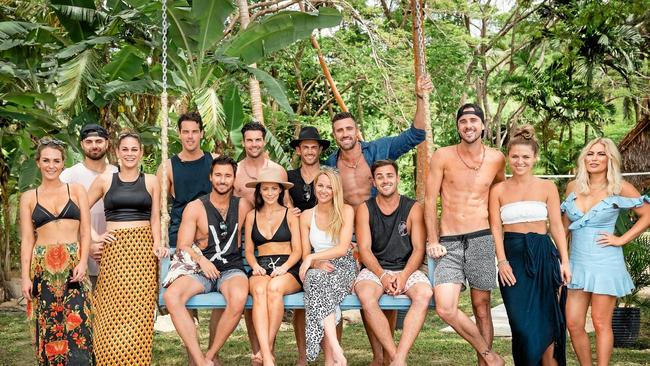 The cast of Bachelor in Paradise Australia. Picture: TEN