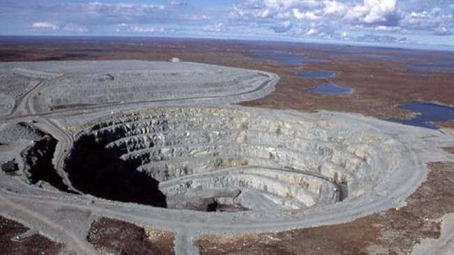 Open-cut mine operation. Picture: Supplied.