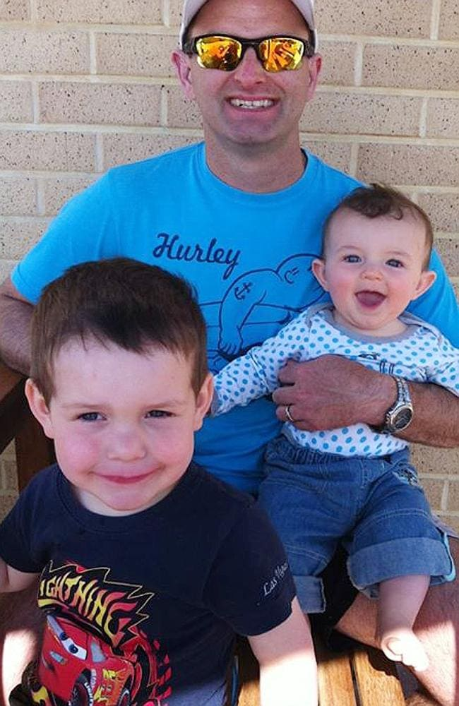 Perth engineer Paul Weeks, with his sons Lincoln and Jack, was travelling to Mongolia for a fly-in-fly-out job.