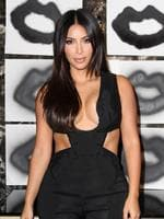 Kim Kardashian attends an artists event in Los Angeles. Picture; Getty