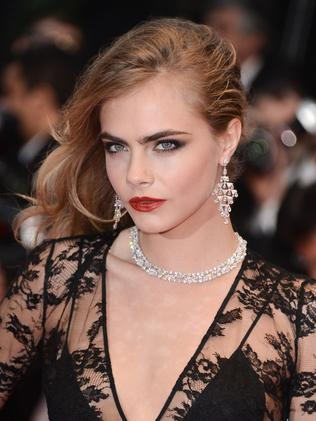 Cara Delevingne at The Great Gatsby premiere.