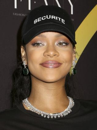 Drake's ex Rihanna was the most streamed female artist worldwide. Picture: Greg Allen / Invision / AP.