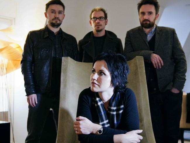 The Cranberries were one of the biggest bands in the world in the 1990s. Picture: AFP/Joël Saget