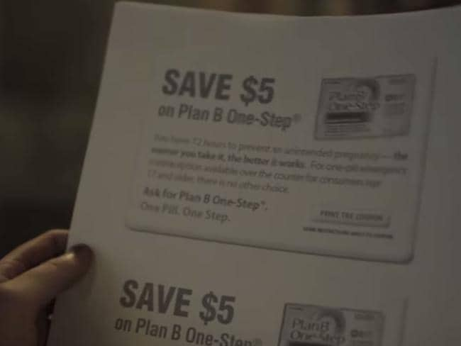 Morning after pill ... coupons for Plan B, or the morning after pill, are all part of the service.