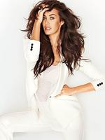 <p>Megan Gale pictured for the Sunday Magazine. Picture: Gubert David</p>