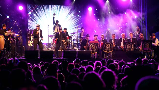 Melbourne Ska Orchestra on the Lighthouse Stage.