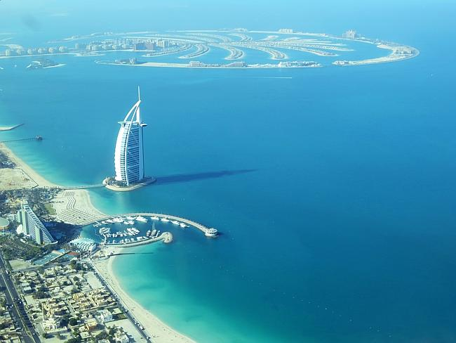 The Burj Al Arab. Picture: Kate Schneider