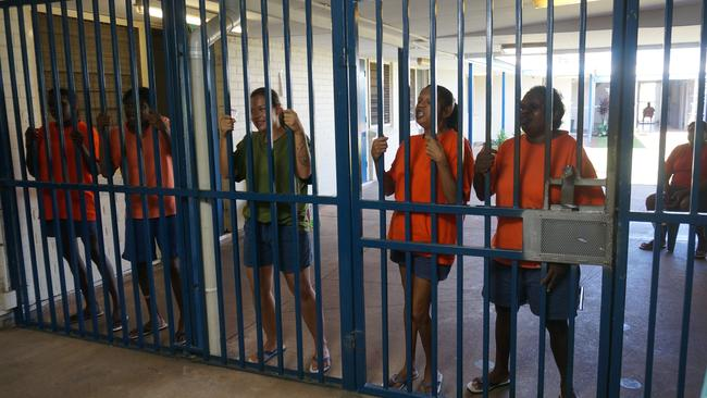 Creative production ... inmates recorded their songs in a makeshift studio and then acted out video clips for them. Picture: Supplied