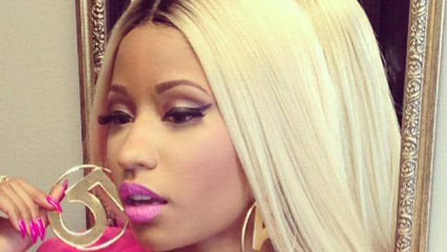 Rapper Nicki Minaj rocks some serious bling. Picture: Instagram
