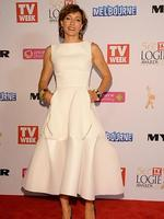 Claudia Karvan during the Red Carpet Arrivals ahead of the 56th TV Week Logie Awards 2014 held at Crown Casino on Sunday, April 27, 2014 in Melbourne, Australia. Picture: Jason Edwards