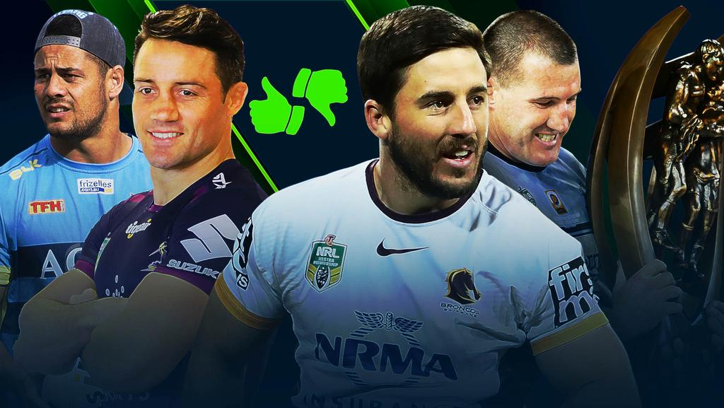 Your NRL club's best and worst case scenario.