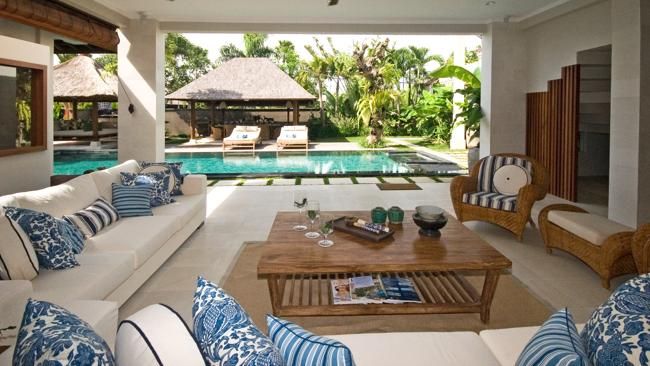 Villa accommodation in Seminyak, Bali. Picture: Supplied