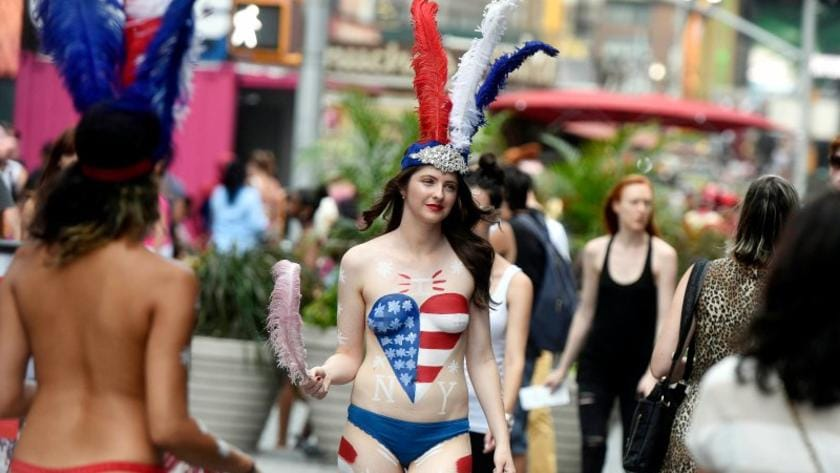 I Was A Topless Performer In Times Square Nyc Herald Sun