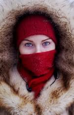 A young student poses for a portrait at a bus station in Yakutsk Village of Oymyakon. Picture: Amos Chapple/REX/Shutterstock/Australscope