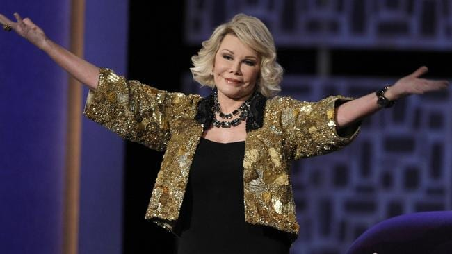 Joan Rivers was roasted on the Comedy Channel in 2009.