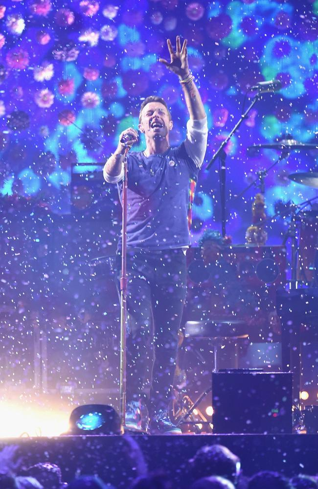 Coldplay tour dates in Sydney