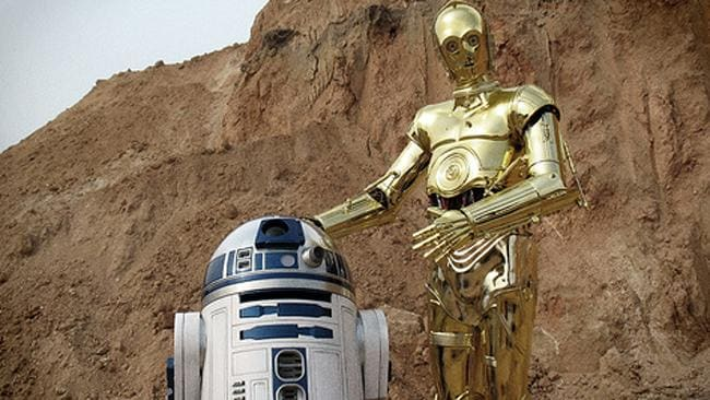 Have C-3PO and R2-D2 hacked the Northern Territory police's computers? Picture: Lucasfilm