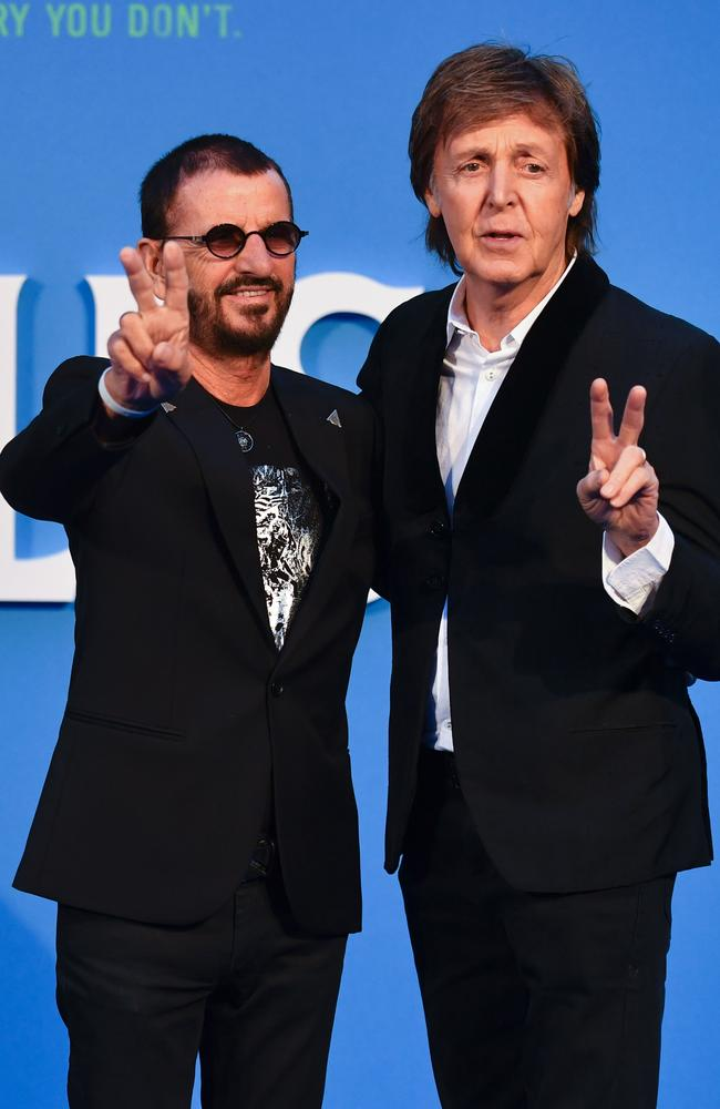 "Paul McCartney, the ""worst"" bass player ever, apparently, and Ringo? ""Don't even talk about it,"" said Quincy Jones. Picture: AFP/Ben Stansall"