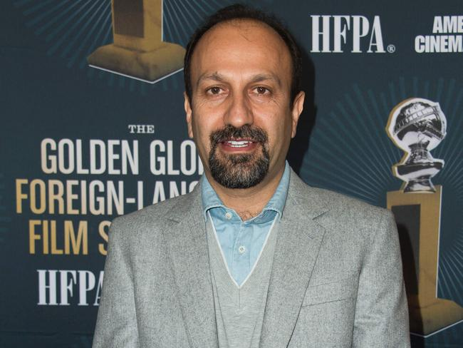 Iranian director Asghar Farhadi may miss the Academy Awards due to Donald Trump's Muslim ban. Picture: AFP/Valerie Macon