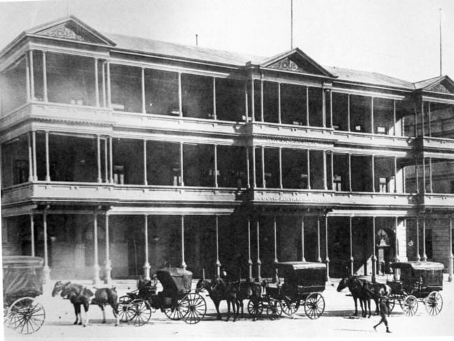 The South Australian Hotel as pictured in the early 1900s.