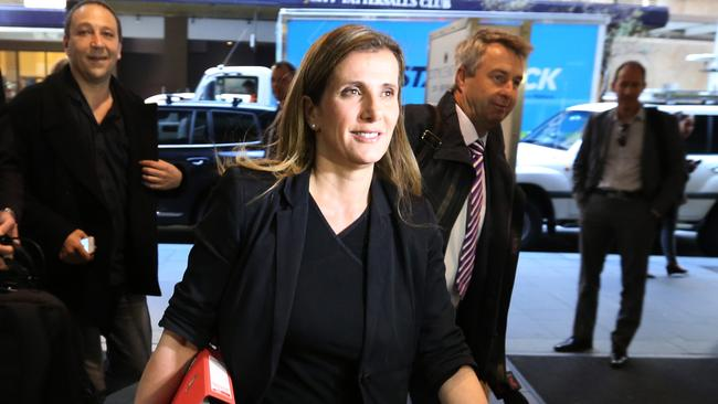 Kathy Jackson objected to being questioned by the HSU barrister Mark Irving because the pair had a love affair that ended badly 20 years ago. Picture: Rohan Kelly