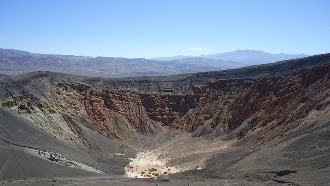 Remote ... hikers found Legeno in California's Death Valley National Park.