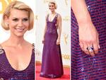 Claire Danes attends the 67th Annual Primetime Emmy Awards in Los Angeles. Picture: Getty
