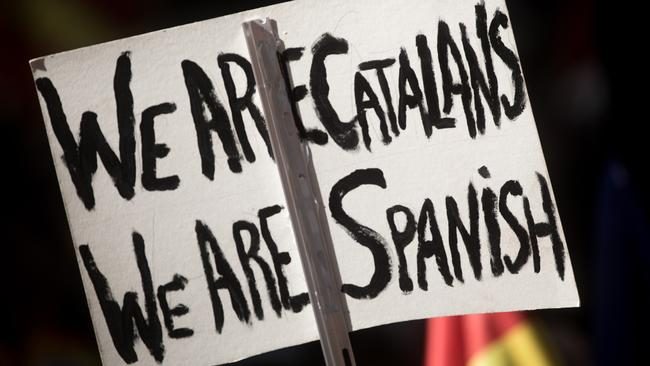 Claims that 90 per cent of Catalans voted in favour of independence appear to be false. Picture: Chris McGrath