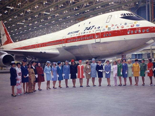 It was once a glamorous jet.