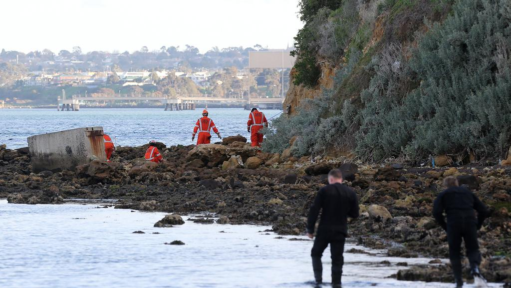 Human remains found at north shore beach geelong advertiser for North shore motor works