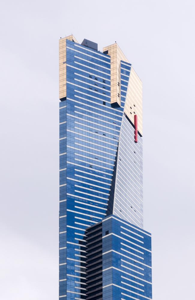 Eureka Tower is currently Melbourne's tallest building and was once the tallest residential apartment building in the world.