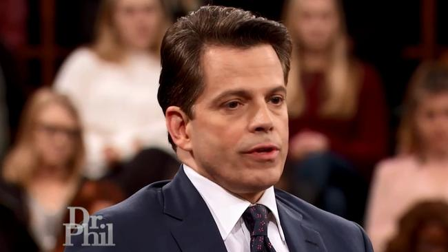 Anthony Scaramucci on US talk show, Dr Phil.