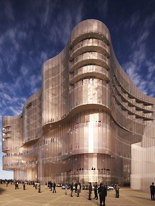 Redevelopment of SkyCity casino