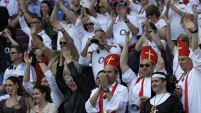 England's supporters enjoyed their trip to Rome.