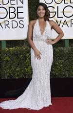 Gina Rodriguez attends the 74th Annual Golden Globe Awards at The Beverly Hilton Hotel on January 8, 2017 in Beverly Hills, California. Picture: AP