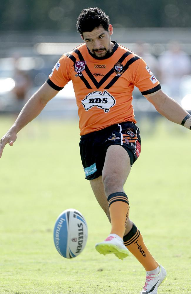 Cody Walker (Easts) — Easts Tigers v Burleigh Bears, Intrust Super Cup played at Langland Park. Pic Mark Cranitch.