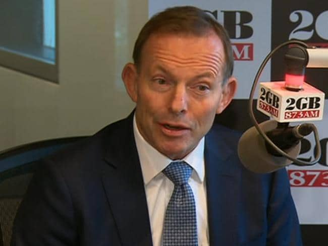 Documentary Fade to Black claims Tony Abbott says people involved in assisted suicide would be left alone by law if they don't make a political spectacle. Picture: Channel 7