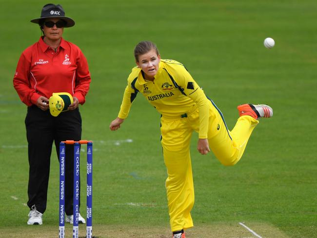 Jess Jonassen has taken nine wickets in the tournament thus far.