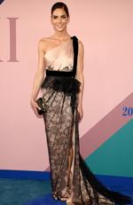 Hilary Rhoda attends the 2017 CFDA Fashion Awards at Hammerstein Ballroom on June 5, 2017 in New York City. Picture: Dimitrios Kambouris/Getty Images/AFP