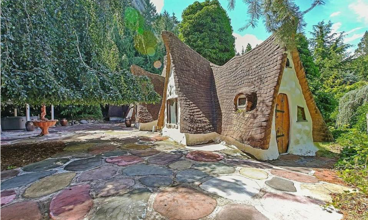 Once upon a time a fairytale cottage was up for sale