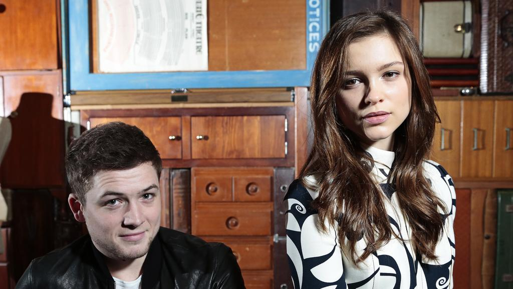 Exclusive Colin Firth Taron Egerton And Sophie Cookson: Kingsman: The Secret Service Stars Reveal Before And After