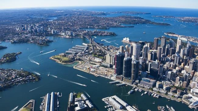 Investors have been particularly attracted to the inner city unit market in Sydney as well as its high end luxury market including waterfront developments like Barangaroo. Picture: Lendlease.