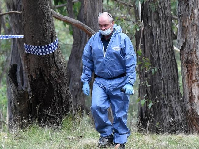A passer-by discovered the body on Monday afternoon. Picture: Kylie Else
