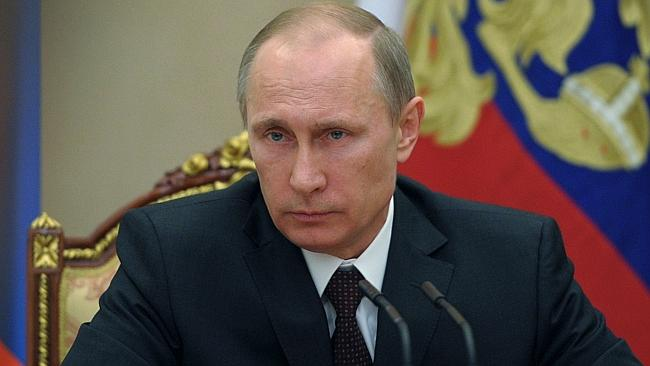 Growing anxiety ... Russian President Vladimir Putin is expected to order an all-out atta