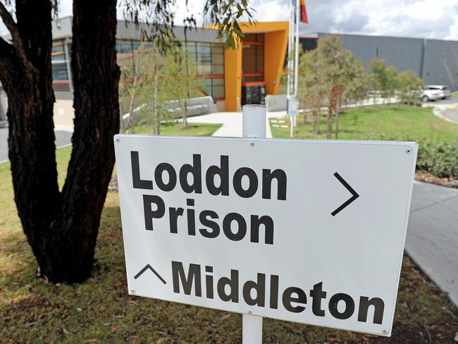 Allan is locked inside Victoria's Middleton Prison, which looks more like a university than a jail. Picture: Joe Castro