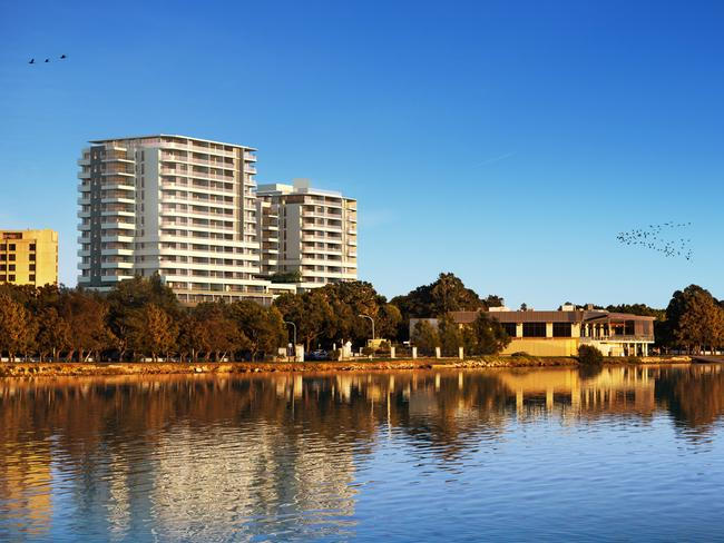 Southbank is being developed by Winten Property Group and Lyon Group Australia.