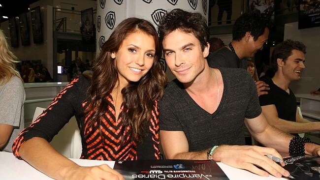 Ian Somerhalder reportedly wanted to settle down with girlfriend Nina Dobrev. Picture: Getty Images