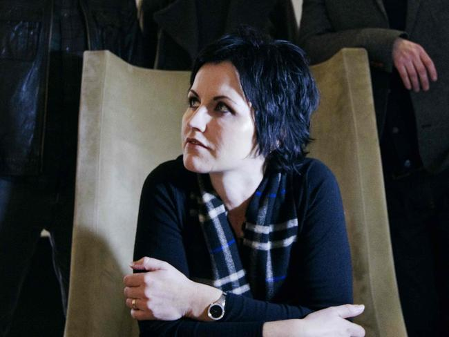 Dolores O'Riordan was the lead singer of the Cranberries. Picture: AFP