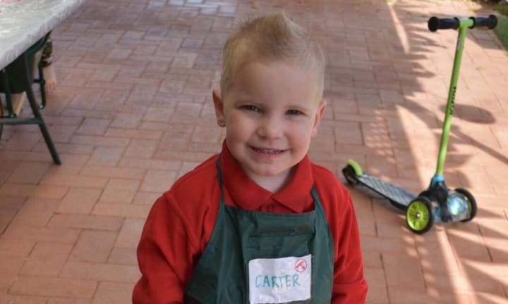 Perth boy, 4, has Bunnings birthday party and we are obsessed